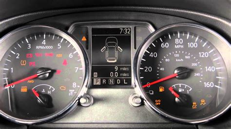 Nissan Altima Warning Lights by 2014 Nissan Rogue Select Warning And Indicator Lights