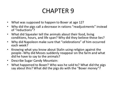 Animal Farm Essay Questions And Answers by Animal Farm Chapter 5 Questions And Answers 1000 Images About Animal Farm On George