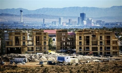Apartments Las Vegas Downtown Construction Employment Makes Steady Rebound In Southern