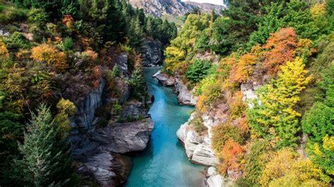 new wallpaper shotover river in autumn queenstown new zealand