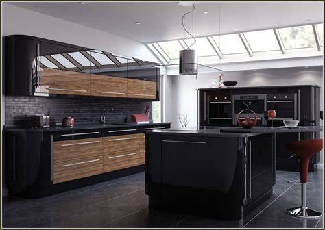 glossy black kitchen cabinets ikea kitchen cabinet doors high gloss black modern cabinets