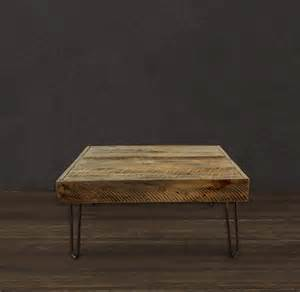 Reclaimed Wood Square Coffee Table Reclaimed Wood Square Coffee Table Modern Coffee Tables Denver By Jw Atlas Wood Co