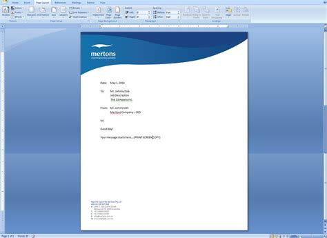 letterhead design for matthew rowe by hendrix30 design