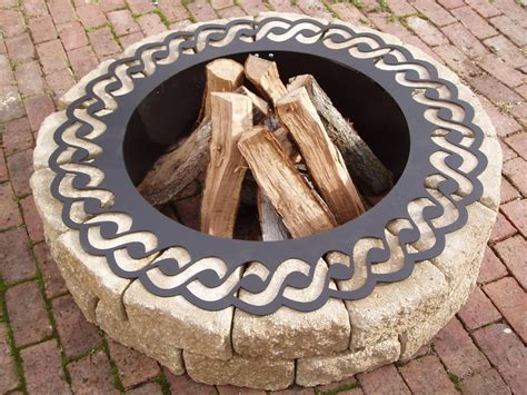 pit ring ideas metal pit ring as a truly great decision for