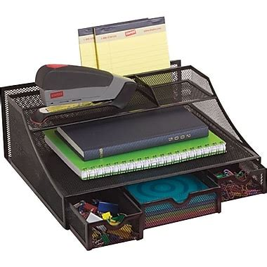 Staples Desk Organizer Staples Wire Mesh Desk Bureau Black Staples 174