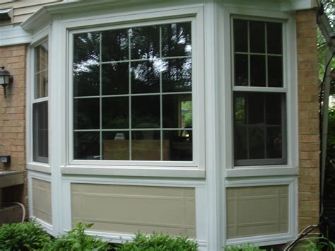 images of bay windows bay window styles exterior vinyl siding bay window linconshire windows plus of illinois