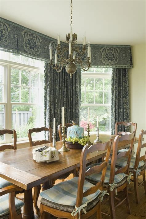 Rustic Dining Room Chair Cushions Curtain Valance With Wood Dining Table Dining Room Rustic