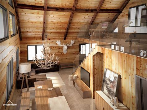 Interieur Chalet Bois Les Avantages 233 Cologiques Du Chalet En Bois Non Class 233