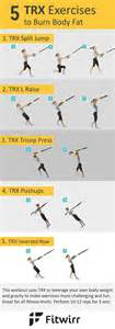 trx workouts 5 simple bodyweight exercises with trx