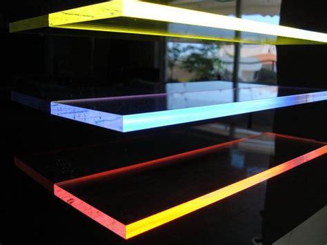 light tape edge lit acrylic shelves  images