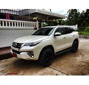 New Toyota Fortuner Caught On Test In Thailand  Page 22