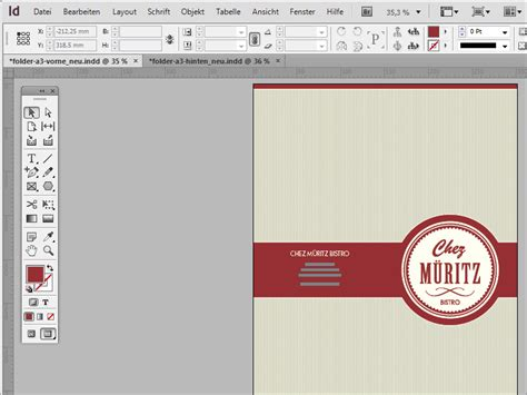layout powerpoint selbst erstellen speisekarten gestalten in adobe indesign indesign