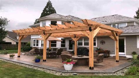 wood patio pergola plans gif maker daddygifcom