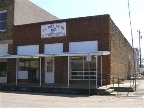 Richland Post Office by Richland Springs
