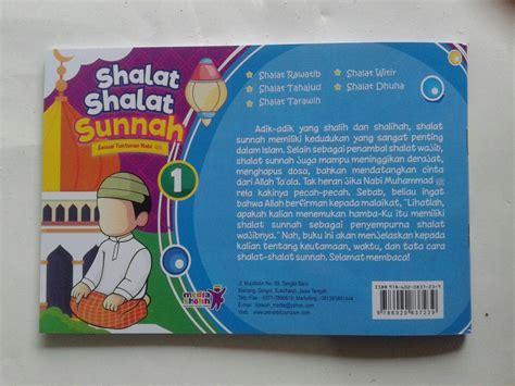 Buku Anak Belajar Wudhu Tayamum Shalat Sesuai Tuntunan Nabi buku anak shalat shalat sunnah sesuai tuntunan nabi 1