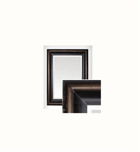 cornice 60x90 specchio bronzo 60x90cm 210br6090 arredo firenze gandon