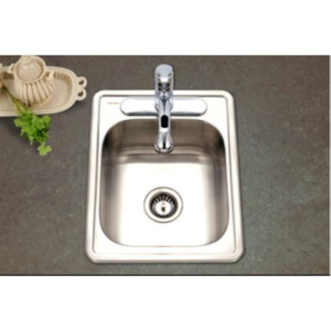Ada Compliant Kitchen Sinks Hospitality Topmount Large Bar Prep Sink Ada Compliant 6 5 Quot D At Menards 174