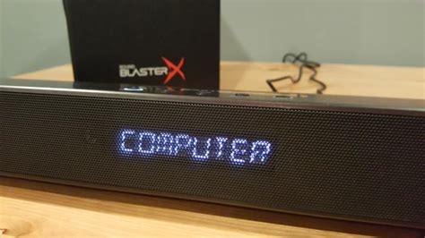 creative sound blasterx katana review  soundbar