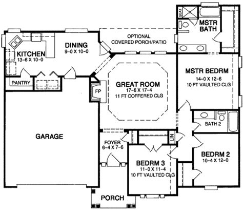 starter home floor plans great starter home plan 5457lk architectural designs