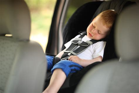 infant sleeping in car seat safe road trip activities for toddlers being mumma