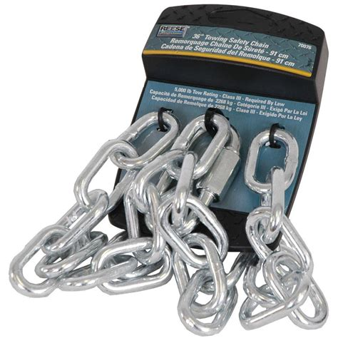 reese towpower 36 in safety chain 7007600 the home depot