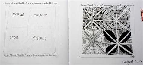 zentangle pattern dyon 105 best images about official zentangle patterns on