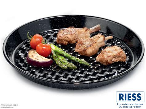 grillschale rund edelstahl riess gelochte grilltasse rund kaufen bei
