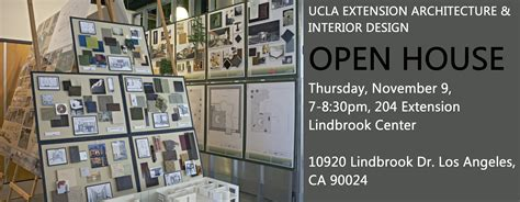 ucla extension interior design program join us for a free information session open house