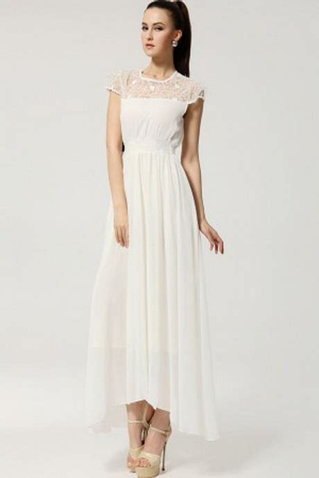 White Casual Wedding Dresses by White Dresses Casual