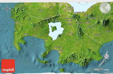 map philippines satellite satellite 3d map of batangas