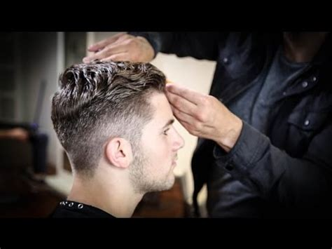 cuts by matt beck college haircut for guys thick wavy combed back haircut