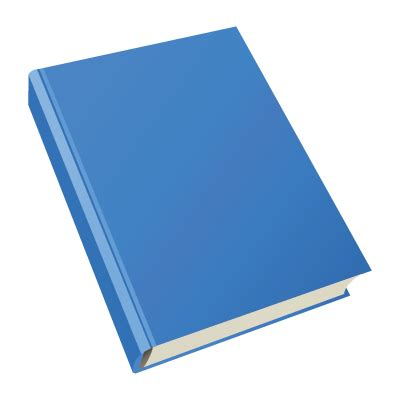 blue books best photos of blank book vector png blank book cover