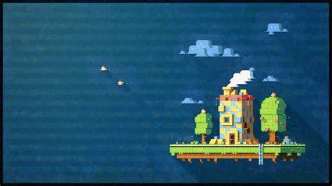 wallpaper desktop pixel pixel art fez hd wallpaper games wallpaper better