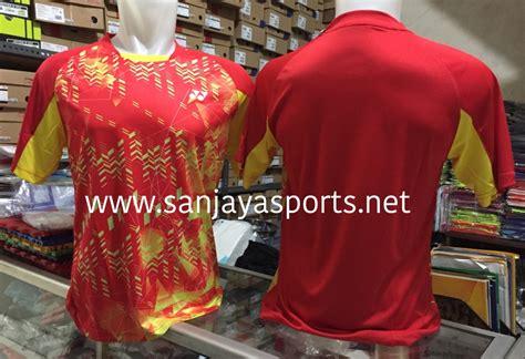 Baju Yonex Impor Lcw Biru Polos jual perlengkapan olahraga bulutangkis badminton
