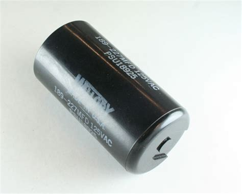 applications of capacitor start motor psu18925 mallory capacitor 189uf 125v application motor start 2020044619