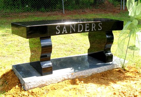 marble memorial benches granite benches