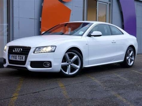 2010 Audi A5 Coupe by Review Our 2010 Audi A5 S Line 2 0tdi Coupe White For Sale