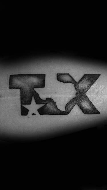 70 Texas Tattoos For Men - Lone Star State Design Ideas