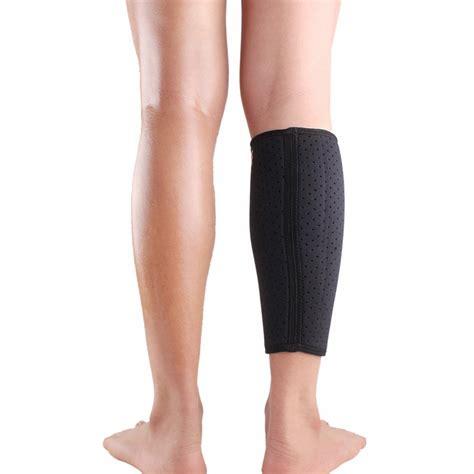 leg l size calf brace support protector wrap shin running bandage leg