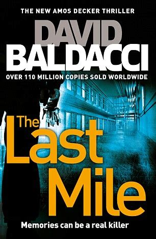 the last mile amos crime fiction daily mail online