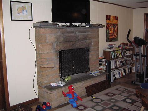how to resurfacing a fireplace hgtv