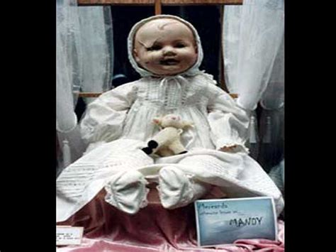 haunted doll in museum mandy haunted doll