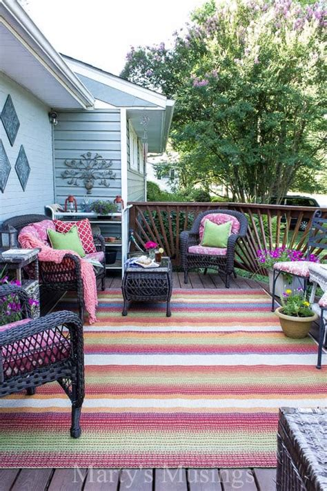 deck decorating ideas   budget