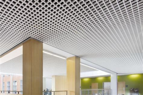 Armstrong Ceiling Grid by Armstrong Metalworks Open Cell Grayking