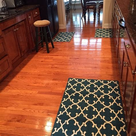 Rug In Kitchen With Hardwood Floor Kitchen Area Rugs Ideas Buungi