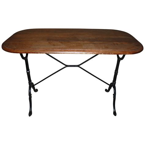 bistro bench french bistro table at 1stdibs