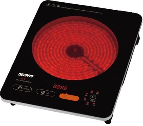Kitchen Price In Uae Geepas Infrared Cooker Touch Sensor Gic6910