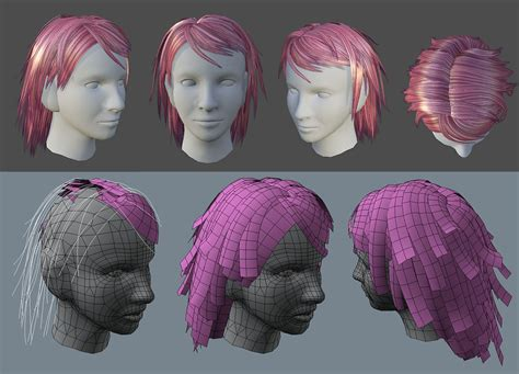 haircut quiz games maya game character hair google search hair fur 3d