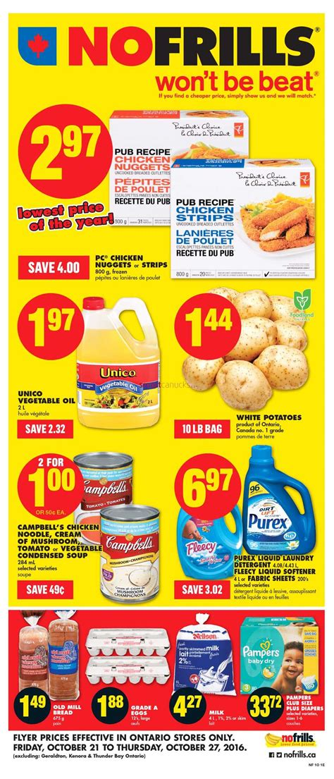no frills new year flyer no frills on flyer october 21 to 27