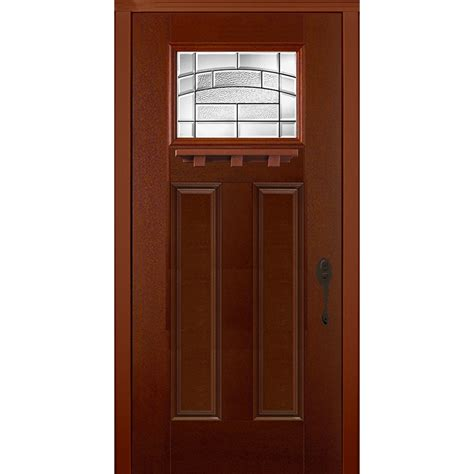 Pre Hung Exterior Doors New Concept Exterior Doors Pre Hung Textured Fiberglass Element Fox Pre Finished 80 Quot X36